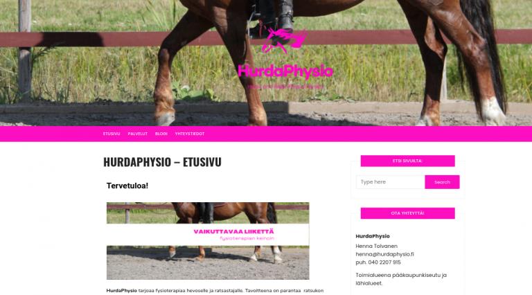 Hurdaphysio.fi